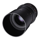 Rokinon | 100mm T3.1 Cine DS Lens for Canon EF Mount | DS100M-C