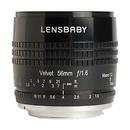 Lensbaby | Velvet 56mm f/1.6 Lens for Fujifilm X | LBV56BF
