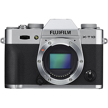 X-T10 Mirrorless Digital Camera Body (Silver) Image 0