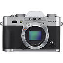 X-T10 Mirrorless Digital Camera Body (Silver)