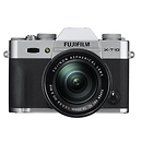 X-T10 Mirrorless Digital Camera with 16-50mm Lens (Silver)