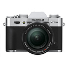 X-T10 Mirrorless Digital Camera with 18-55mm Lens (Silver)