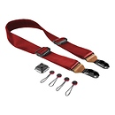 Peak Design | Slide Camera Strap Summit Edition (Red with Tan Leather) | SL-L-2