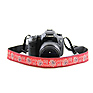Bandana 1.5 In. Camera Strap (Red) Thumbnail 0