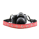 Capturing Couture | Bandana 1.5 In. Camera Strap (Red) | SLR15-BDRD