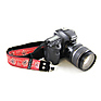 Bandana 1.5 In. Camera Strap (Red) Thumbnail 2
