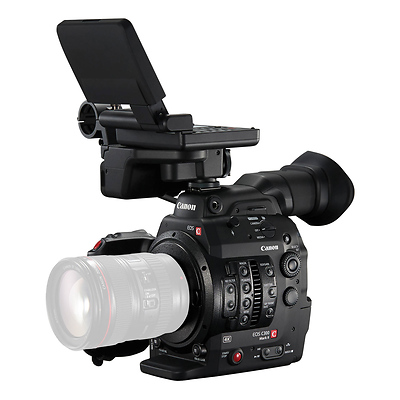 C300 Mark II Cinema EOS Camcorder Body with Dual Pixel CMOS AF (EF Lens Mount) & Atomos Shogun Inferno Bundle Image 0