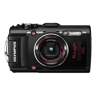 Stylus TOUGH TG-4 Digital Camera (Black) Image 0