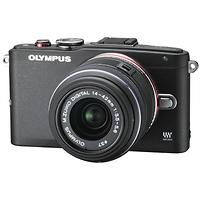 Olympus   E-PL6 Mirrorless Micro Four Thirds Digital Camera with 14-42mm Lens (Black)   V205051BU000