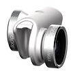 4-in-1 Photo Lens for iPhone 6/6 Plus (Silver Lens with White Clip)