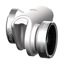 olloclip | 4-in-1 Photo Lens for iPhone 6/6 Plus (Silver Lens with White Clip) | OCEU-IPH6-FW2M-SW