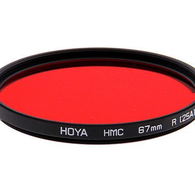 67mm Red 25A HMC Filter Image 0