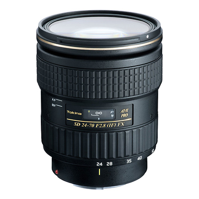 AT-X 24-70mm f/2.8 PRO FX Lens for Canon EF Image 0