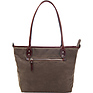 The Capri Leather Tote Bag (Field Tan) Thumbnail 1