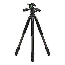CLT203 Classic Series 2 Stealth Carbon Fiber Tripod with PHQ1 5-Way Panhead Image 0