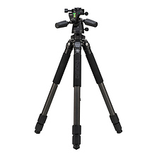 CLT303 Classic Series 3 Stealth Carbon Fiber Tripod with PHQ3 5-Way Panhead Image 0