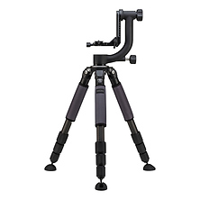 GIT304 Grand Series 3 Stealth Carbon Fiber Tripod with GHB2 Gimbal Head Image 0