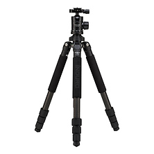 GTT204M2 Grand Turismo Series 2 Stealth Carbon Fiber Tripod with BHM2 Ball Head Image 0