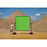 Chroma-key Green Screen for Sun-Scrim (8x8ft.)