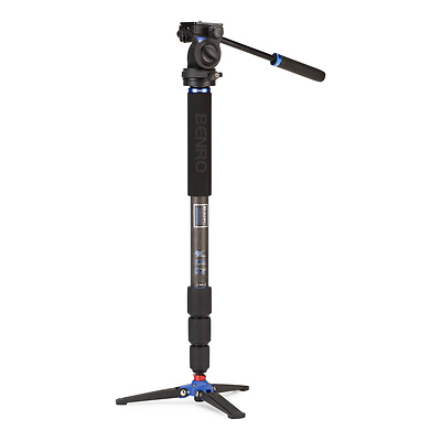 HMMA38CS2H Series 3 Carbon Fiber Hybrid Monopod with S2 Head Image 0