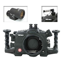 A5D Mk III Underwater Housing for Canon 5D Mark III with Aqua VF and Vacuum Check System Image 0