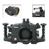 A5D Mk III Underwater Housing for Canon 5D Mark III with Aqua VF and Vacuum Check System