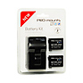 Battery Charger Kit for GoPro Hero4