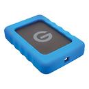 G-Technology | 500GB G-DRIVE ev RaW USB 3.0 Hard Drive with Rugged Bumper | 0G04105