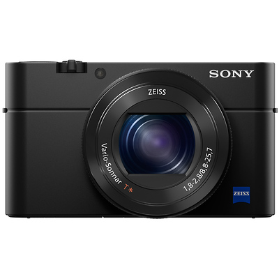 Cyber-shot DSC-RX100 IV Digital Camera (Black) Image 0