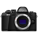Olympus OM-D E-M10 Mark II Mirrorless Micro Four Thirds Digital Camera Body (Black)