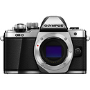 Olympus OM-D E-M10 Mark II Mirrorless Micro Four Thirds Digital Camera Body (Silver)