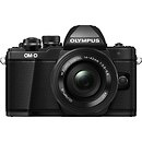 Olympus OM-D E-M10 Mark II Mirrorless Micro Four Thirds Digital Camera with 14-42mm Lens (Black)