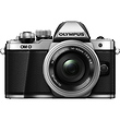 OM-D E-M10 Mark II Mirrorless Digital Camera with 14-42mm Lens (Silver)