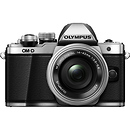 Olympus OM-D E-M10 Mark II Mirrorless Micro Four Thirds Digital Camera with 14-42mm Lens (Silver)