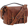 Prince Street Camera Messenger Bag (Antique Cognac)