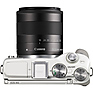 EOS M3 Mirrorless Digital Camera with 18-55mm Lens (White) Thumbnail 4