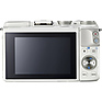 EOS M3 Mirrorless Digital Camera with 18-55mm Lens (White) Thumbnail 7