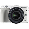 EOS M3 Mirrorless Digital Camera with 18-55mm Lens (White) Thumbnail 1