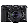EOS M3 Mirrorless Digital Camera with 18-55mm and 55-200mm Lenses (Black) Thumbnail 3