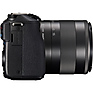 EOS M3 Mirrorless Digital Camera with 18-55mm and 55-200mm Lenses (Black) Thumbnail 7