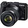 EOS M3 Mirrorless Digital Camera with 18-55mm and 55-200mm Lenses (Black) Thumbnail 1