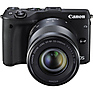 EOS M3 Mirrorless Digital Camera with 18-55mm and 55-200mm Lenses (Black) Thumbnail 2