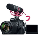 Canon EOS 70D Video Creator Kit with 18-135mm Lens, Rode VideoMic GO Microphone & Sandisk 32GB SDH