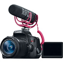Canon EOS Rebel T6i Video Creator Kit with 18-55mm  Lens, Rode VideoMic & Sandisk 32GB SDHC Card
