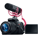 Canon EOS Rebel T5i Video Creator Kit with 18-55mm Lens, Rode VideoMic & 32GB SDHC Card