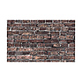 53 in. x 18 ft. Printed Background Paper (Grunge Brick)