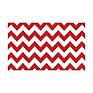 53 in. x 18 ft. Printed Background Paper (Red & White Chevron)