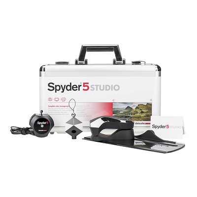 Spyder5STUDIO Color Calibration Bundle Image 0