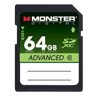 64GB Advanced Extended Capacity SD Memory Card Image 0
