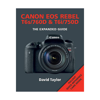 The Expanded Guide on Canon EOS Rebel T6S/760D & T6I/750D - Paperback Book Image 0